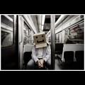 CardBoard Box Head #12 - Box on the move